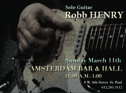 Amsterdam Bar & Hall 03/11/12