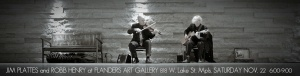Parisota Hot Club duo at Flanders Art Gallery Saturday November 22