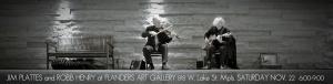 Parisota Hot Club duo at Flanders Art Gallery Saturday November 22